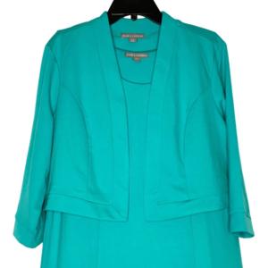 Jessica London Teal Dress.